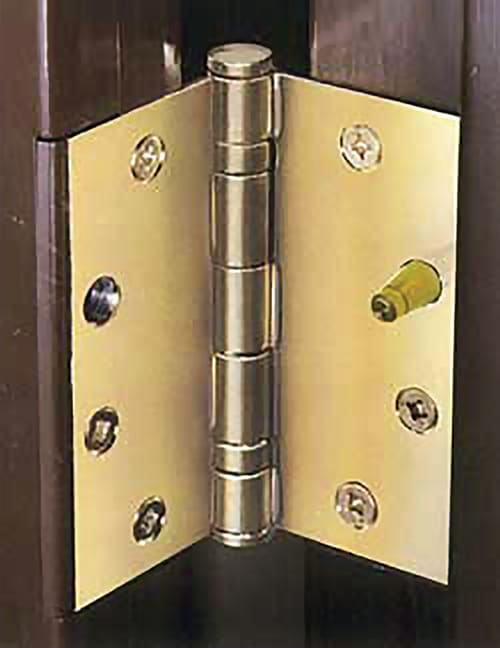 Protect Entry Doors From Thieves And Burglars With Erie Products Hingemate Door Hinge Security