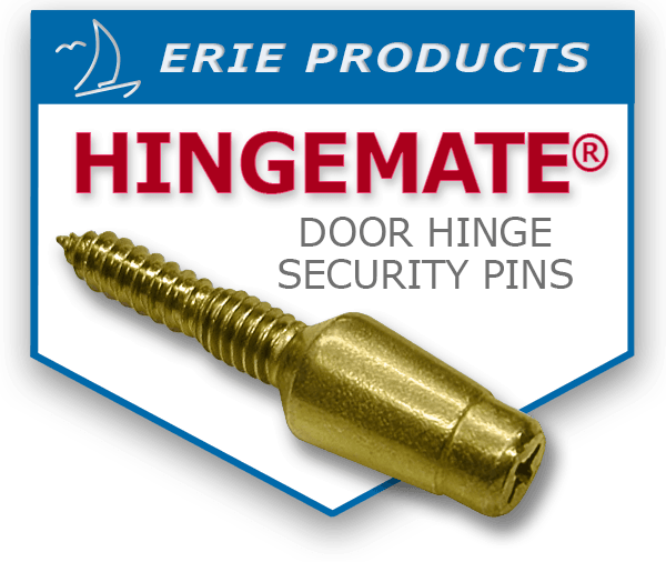 Hingemate Door Hinge Security Pin logo  sc 1 th 206 & Protect Entry doors from thieves and burglars with Erie Products ...